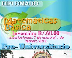 Diplomado Pre Universitario.